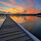 Bolton Point Sunset by Mark Snelson