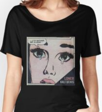 """Kali Uchis """"I'd Rather Be Alone"""" Women's Relaxed Fit T-Shirt"""