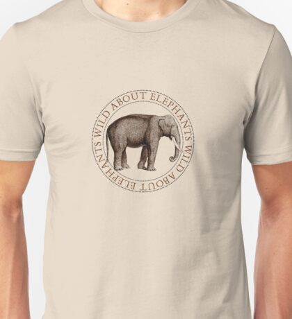 Wild About Elephants T-Shirt