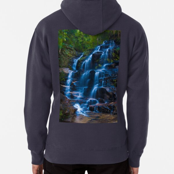Sylvia Falls, Blue Mountains Pullover Hoodie
