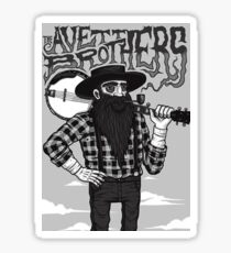 the avett brothers Sticker