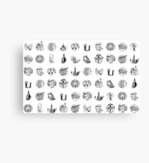 Miniature Cities Canvas Print