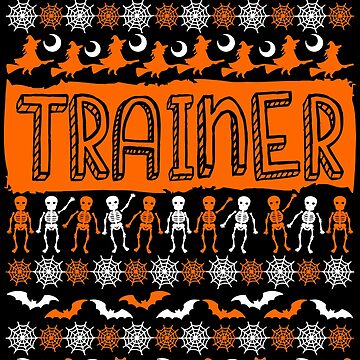 Cool Trainer Ugly Halloween Gift t-shirt by BBPDesigns