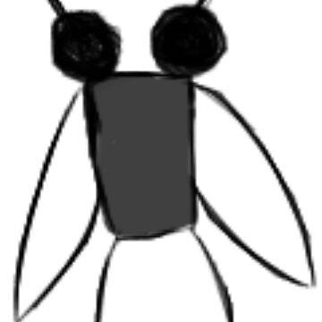 Weird Fly by BashsArt
