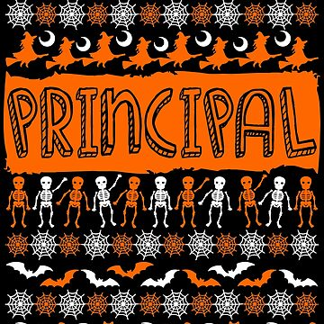 Cool Principal Ugly Halloween Gift t-shirt by BBPDesigns