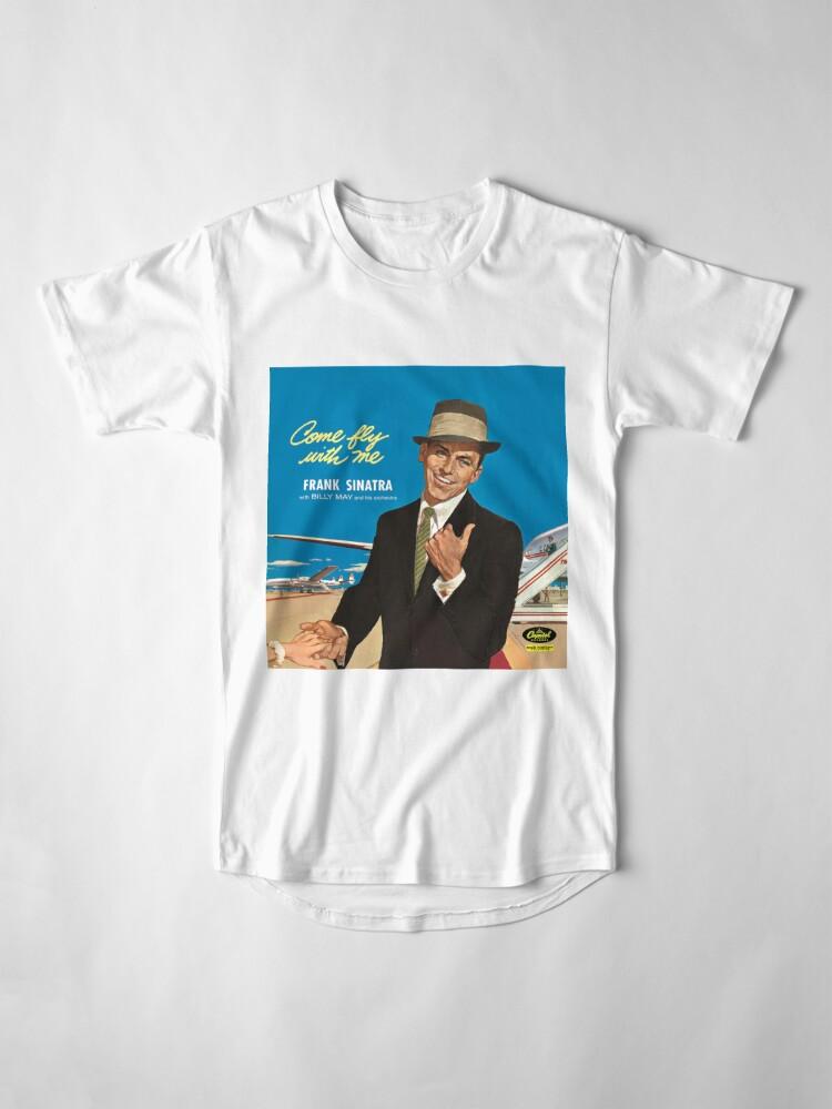 """Alternative Ansicht von Frank Sinatra """"Komm flieg mit mir"""" Print Longshirt"""