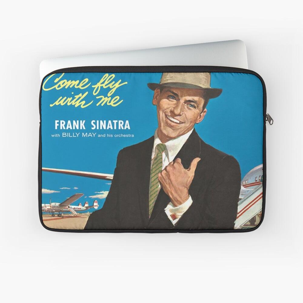 """Frank Sinatra """"Komm flieg mit mir"""" Print Laptoptasche"""