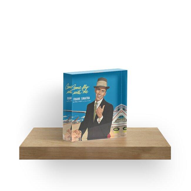 """Frank Sinatra """"Komm flieg mit mir"""" Print von SchnappiimHaube"""