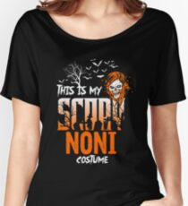 This is my scary Noni Costume Funny Gift. Women's Relaxed Fit T-Shirt