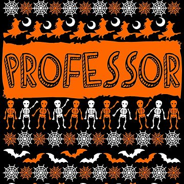 Cool Professor Ugly Halloween Gift t-shirt by BBPDesigns