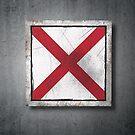 Old Alabama State flag by erllre74