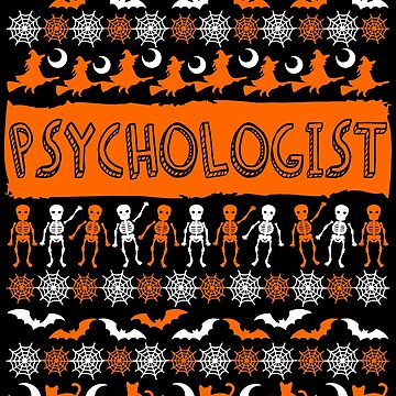 Cool Psychologist Ugly Halloween Gift t-shirt by BBPDesigns