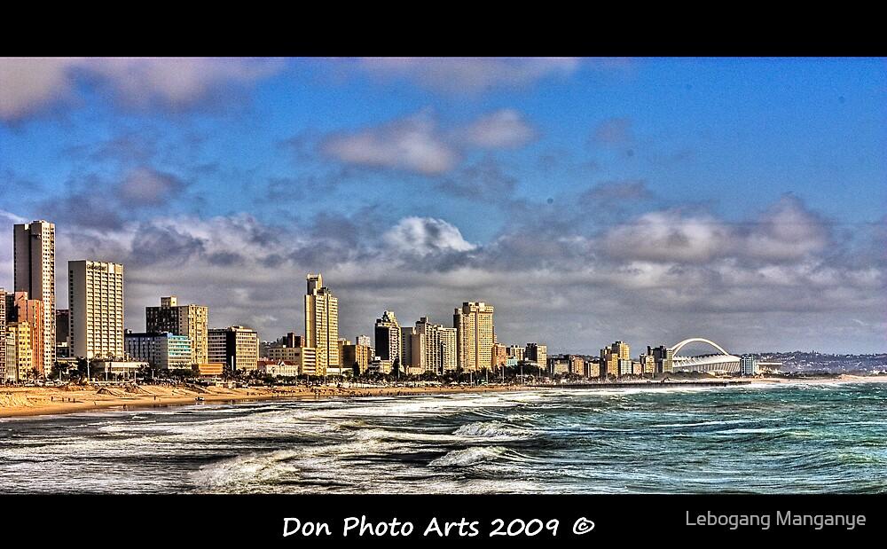 Durban City and Beach Front - HDR by Lebogang Manganye