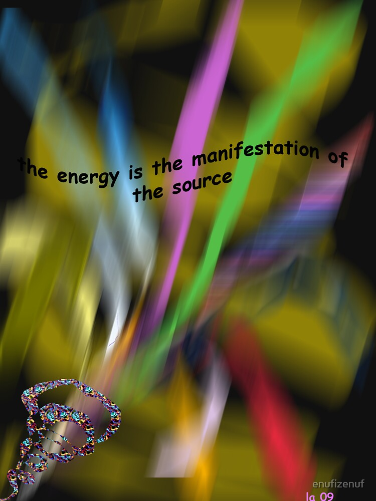 the energy by enufizenuf