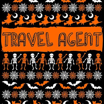 Cool Travel Agent Ugly Halloween Gift t-shirt by BBPDesigns