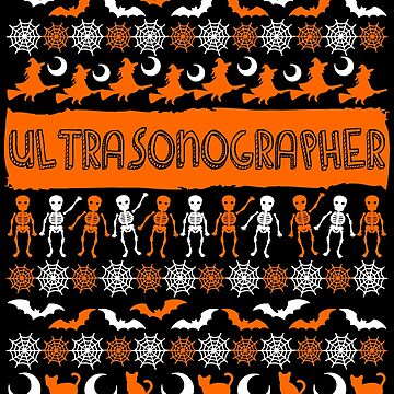 Cool Ultrasonographer Ugly Halloween Gift t-shirt by BBPDesigns