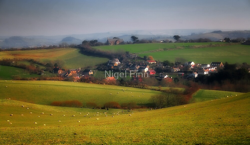 Hidden Pockets Of England - Lower Eype by Nigel Finn