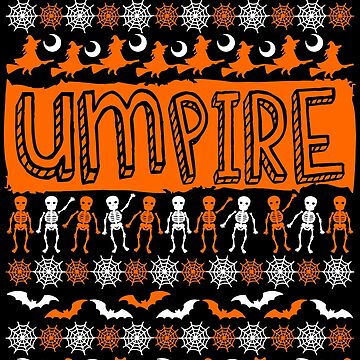 Cool Umpire Ugly Halloween Gift t-shirt by BBPDesigns