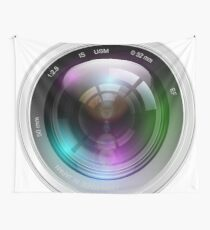 Realistic lens Wall Tapestry
