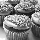 Black & White Cupcakes by Framed-Photos