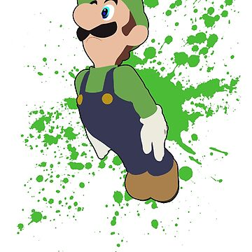 Luigi - Super Smash Bros. For Wii U by PrincessCatanna