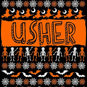 Cool Usher Ugly Halloween Gift t-shirt by BBPDesigns