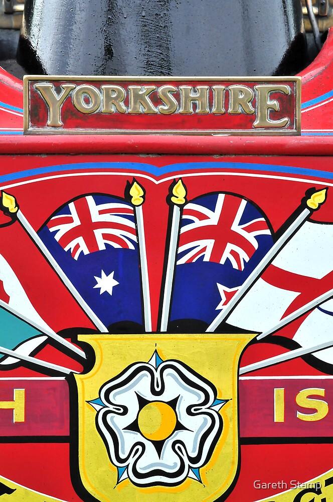 Yorkshire Lad - steam lorry by Gareth Stamp