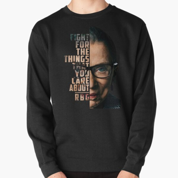Ruth Bader Ginsburg (RGB) Supreme Court Justice Pullover Sweatshirt