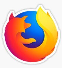 Firefox Quantum Logo Sticker
