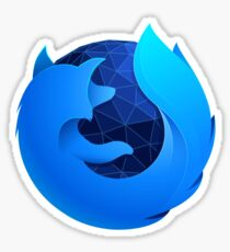Firefox Quantum (developer edition logo) Sticker