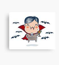 Little Dracula Canvas Print