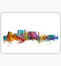 Cape Town South Africa Skyline Sticker