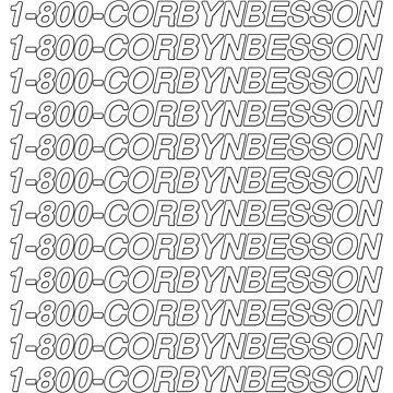 1-800-CorbynBesson by amandamedeiros