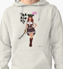 Lusty Pirate Queen Pullover Hoodie