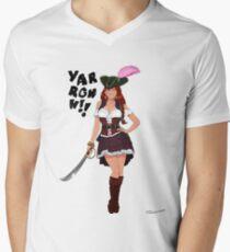 Lusty Pirate Queen Men's V-Neck T-Shirt