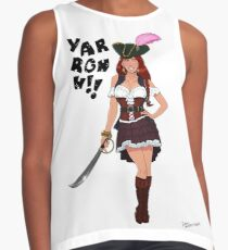 Lusty Pirate Queen Contrast Tank