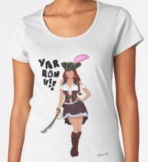 Lusty Pirate Queen Women's Premium T-Shirt