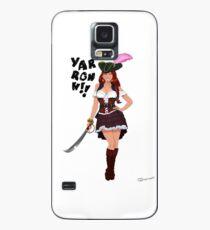 Lusty Pirate Queen Case/Skin for Samsung Galaxy