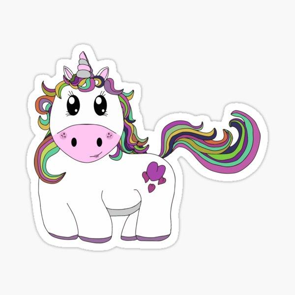 Cutie Pie Unicorn Sticker
