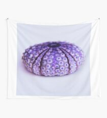 purple urchin Wall Tapestry