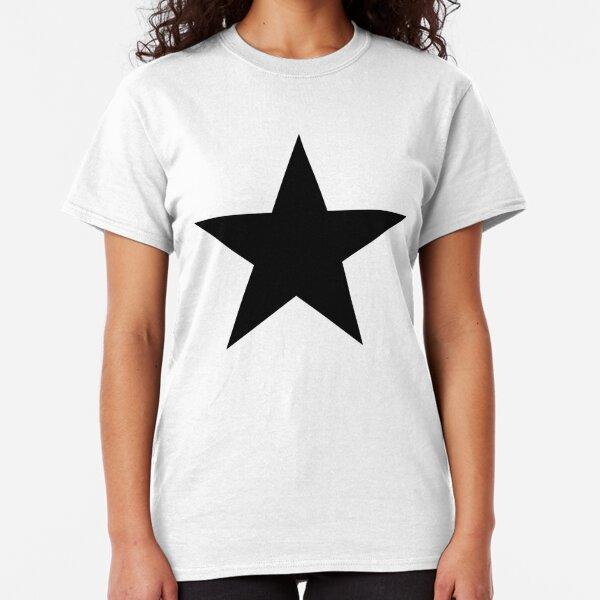BLACK Star, Dark Star, Black Hole, Stellar, Achievement, Cool. Classic T-Shirt