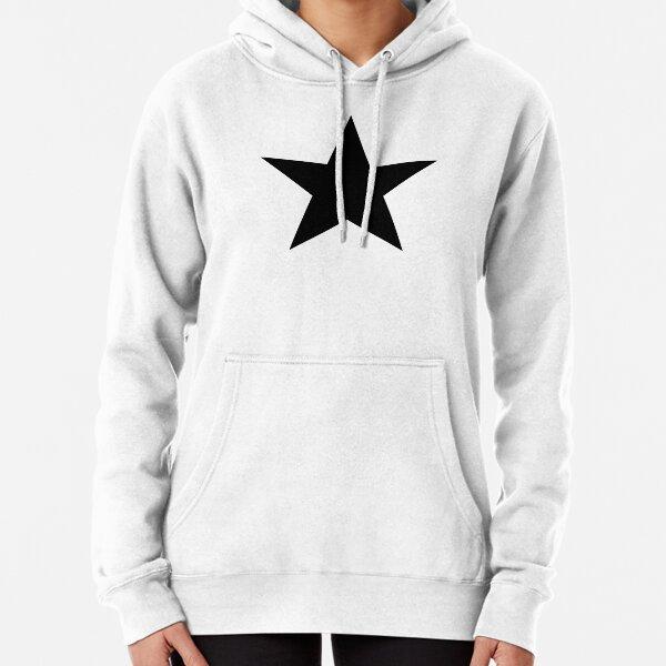 BLACK Star, Dark Star, Black Hole, Stellar, Achievement, Cool. Pullover Hoodie
