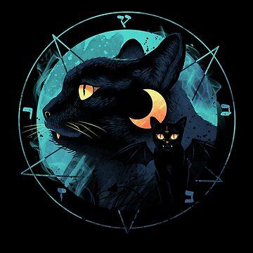 Puss the Evil Cat by vincenttrinidad