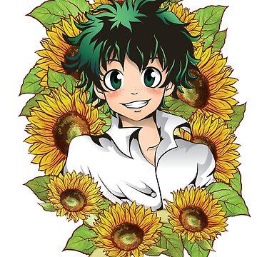 Sunshine and Smiles and Sunflowers - Midoriya Izuku - Deku by WhipLeen