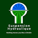 Citroen Suspension Hydraulic Graphic T-shirt by RJWautographics