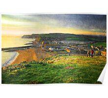 West Bay, Dorset Poster