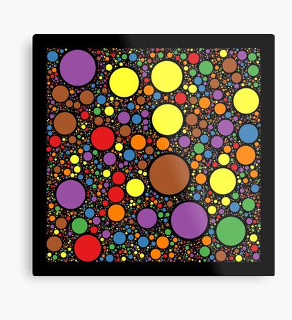 Circle Packing 214 Metal Print
