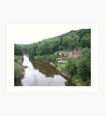 Ironbridge Gorge Art Print