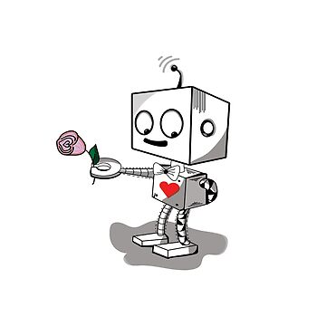 ROBOTLOVE t-shirt by yasminafs