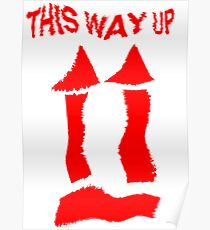 This Way Up !  Poster